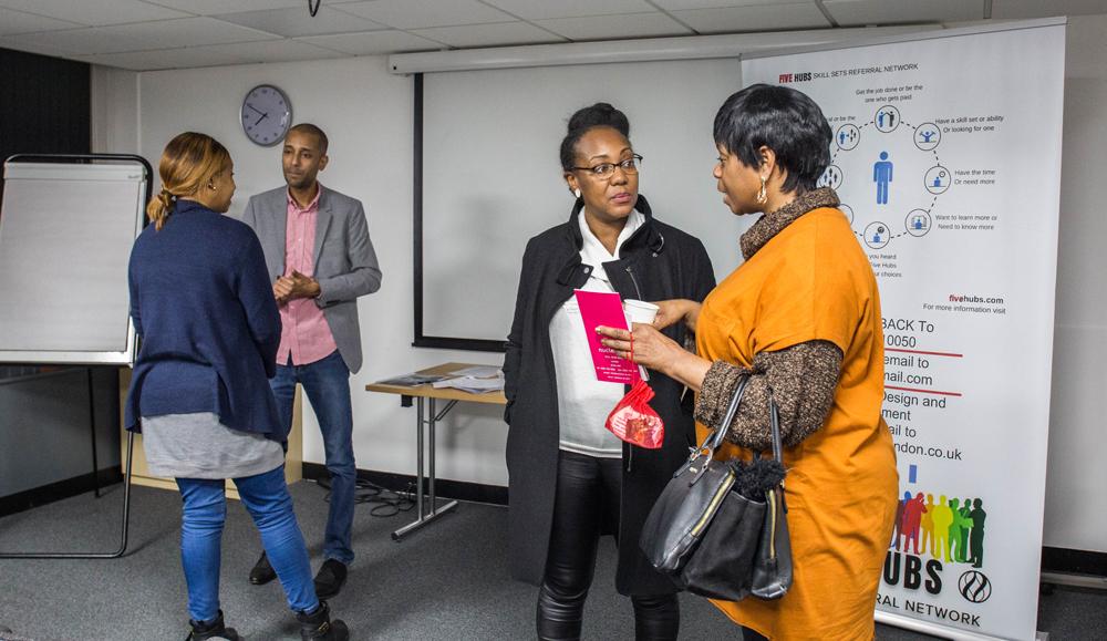 Five Hubs Business facilitators meetings