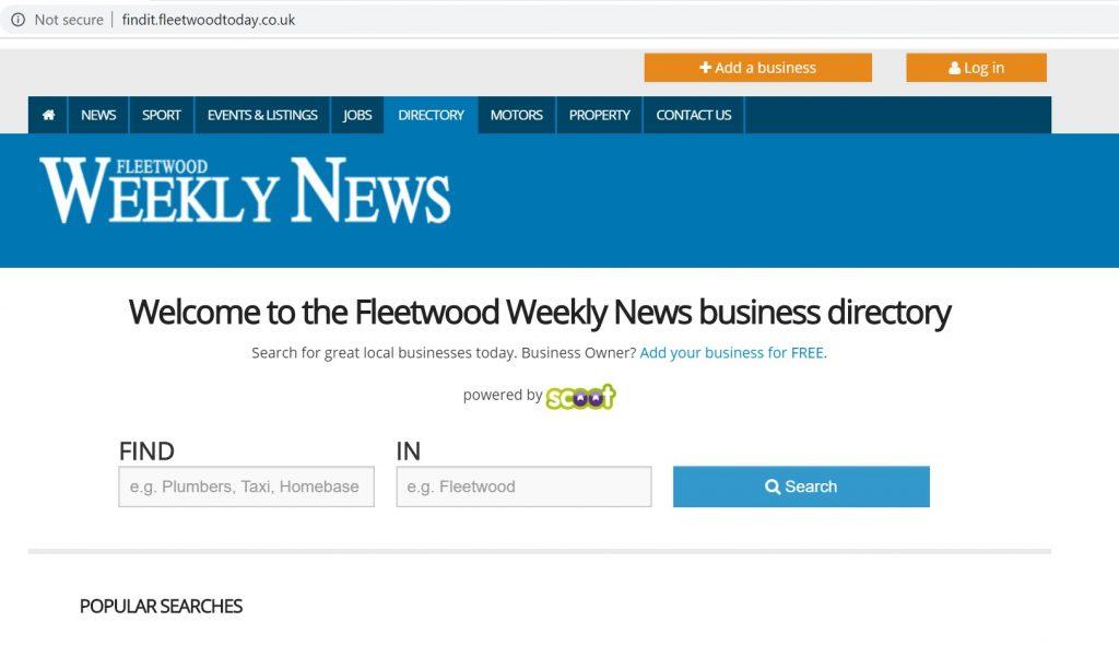 fleetwood weekly