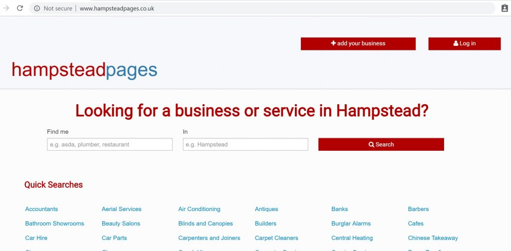 hampstead pages