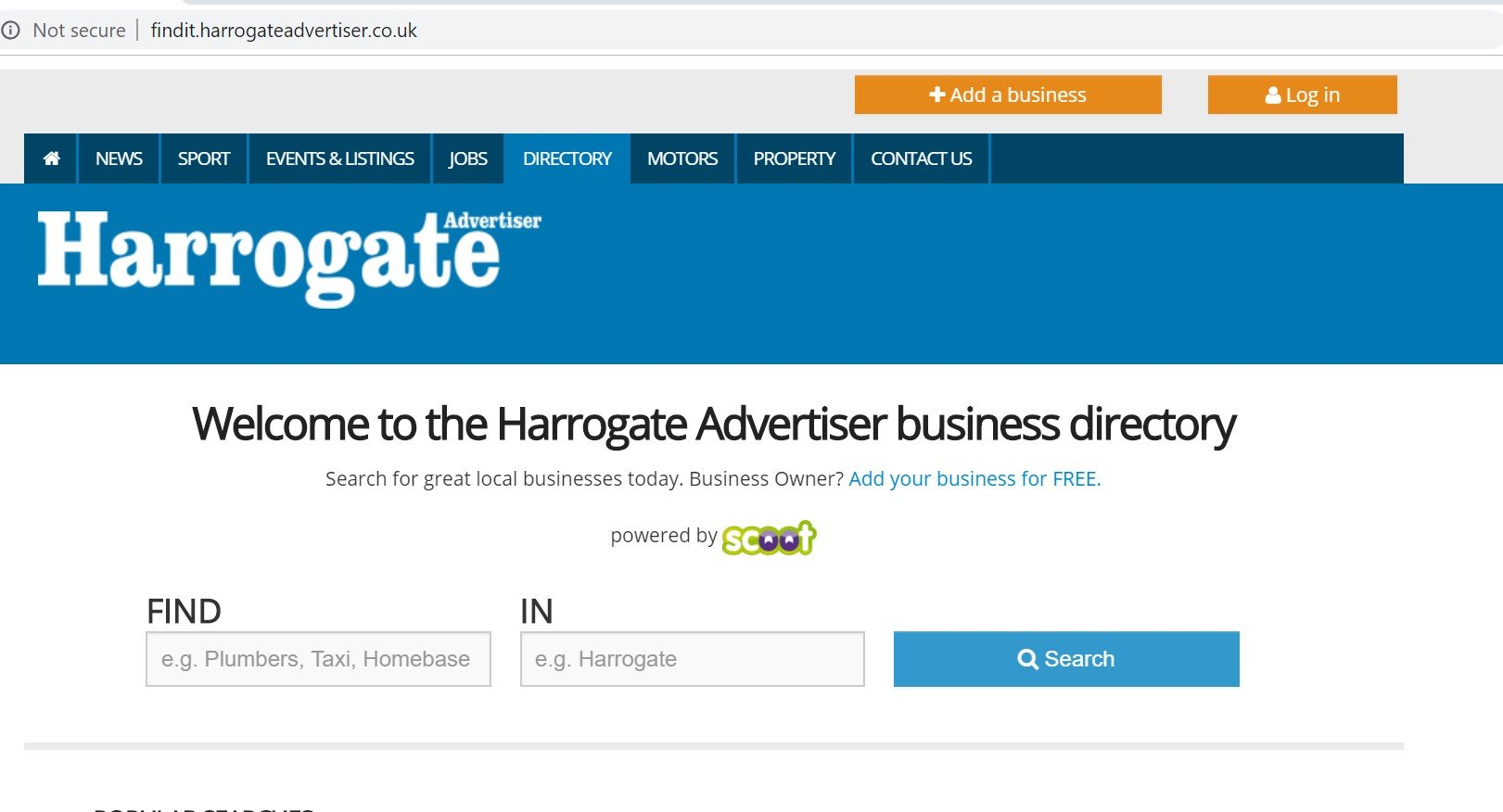 harrogate advertiser