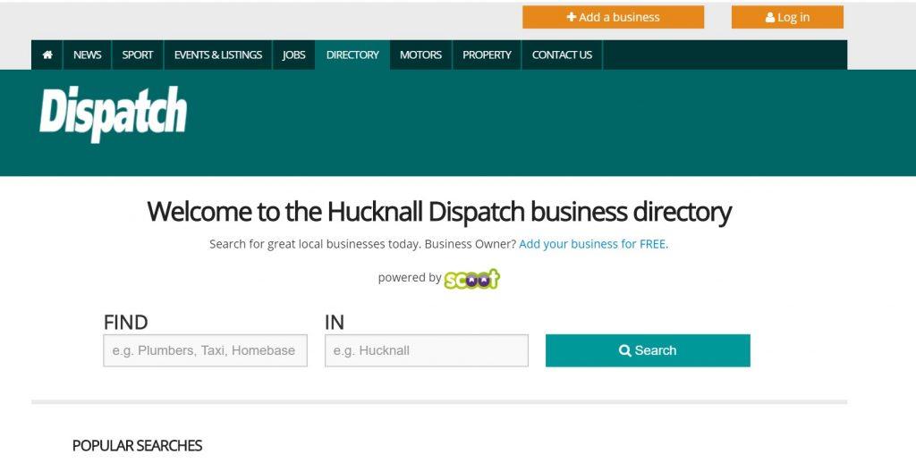 hucknall dispatch