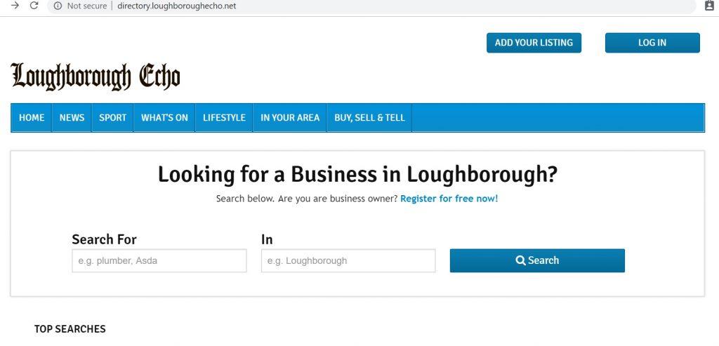 loughborough echo