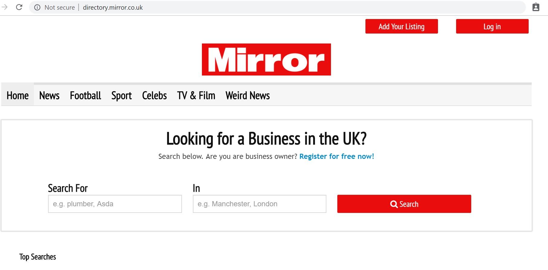 mirror directory