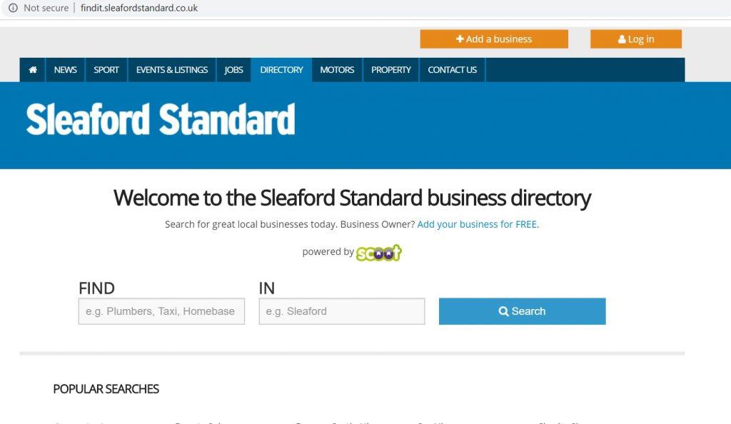 sleaford standard