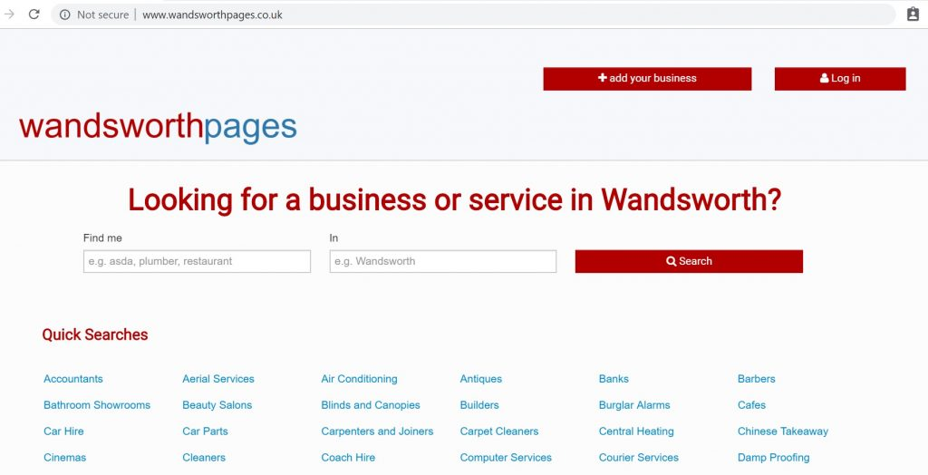 wandsworth pages