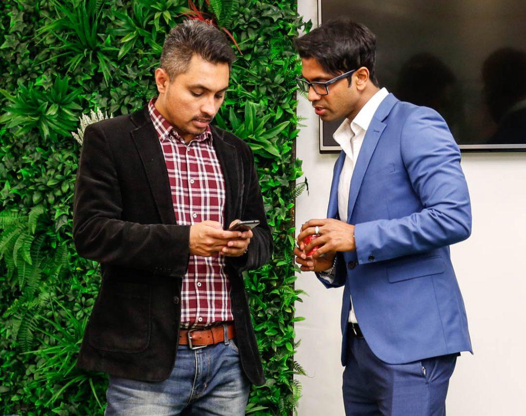 ClickDo CEO Fernando with Passion Digital Managing Director Anik Sumon
