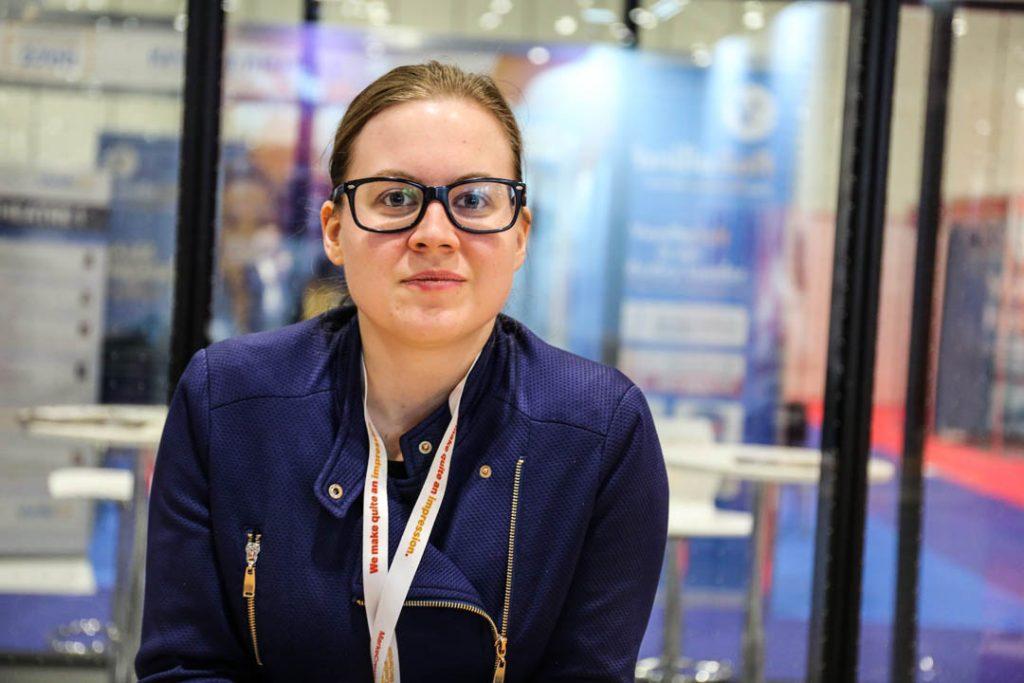 Nicole Venglovicova at the B2B Marketing Expo 2019