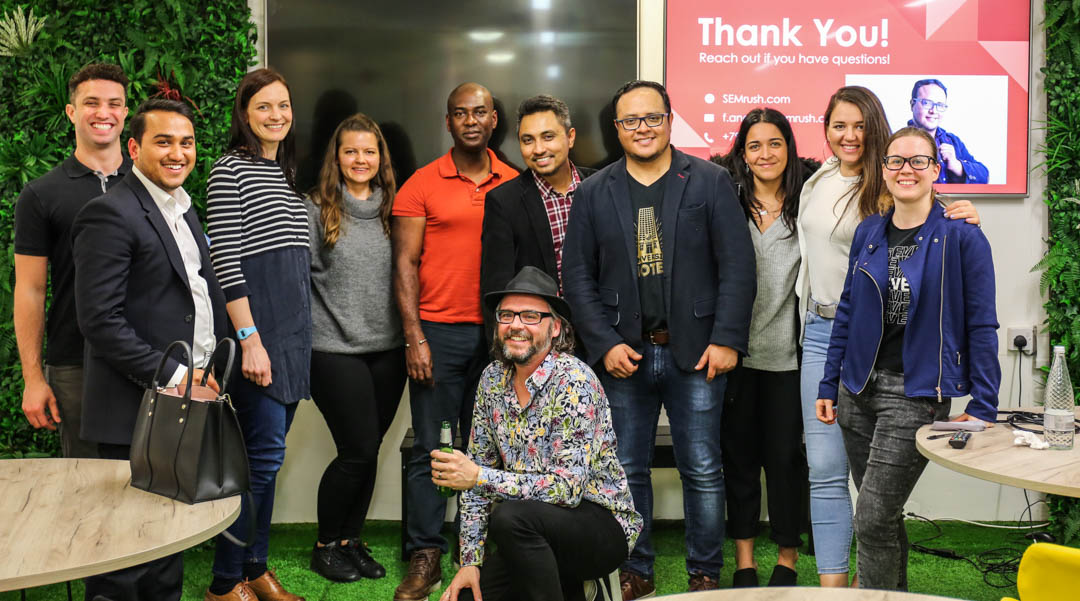 SEMRush meetup and event at Passion Digital Agency In London