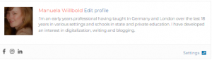 Authorship profile UK Education Blog
