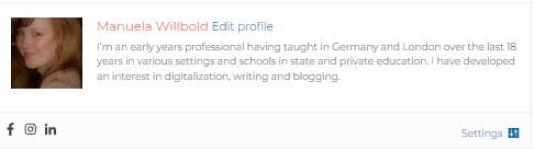 Author profile Edu Blog