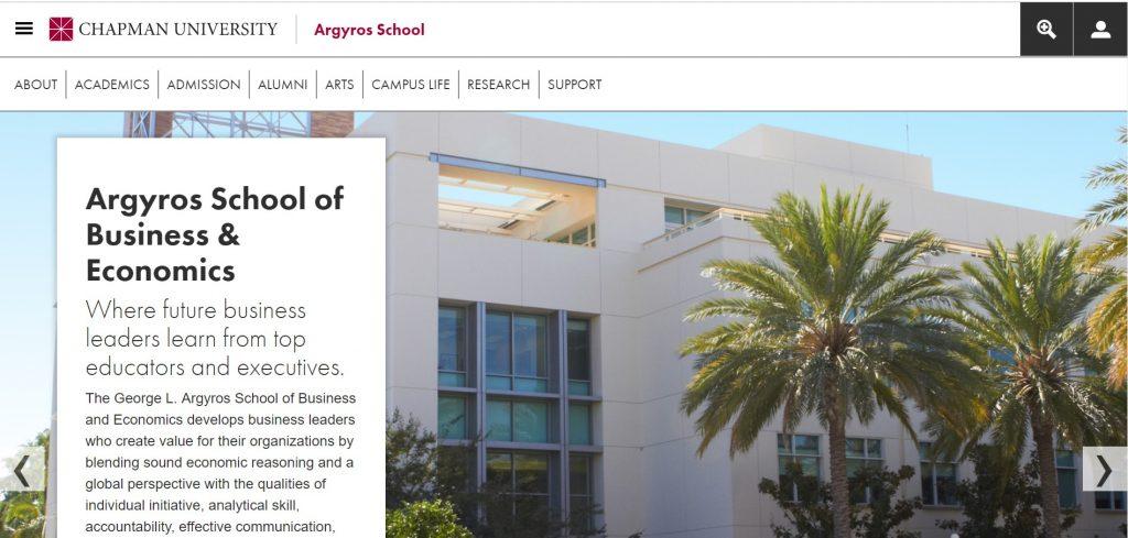 chapman university blog