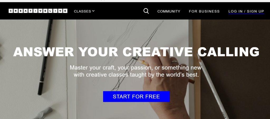 creative live blog