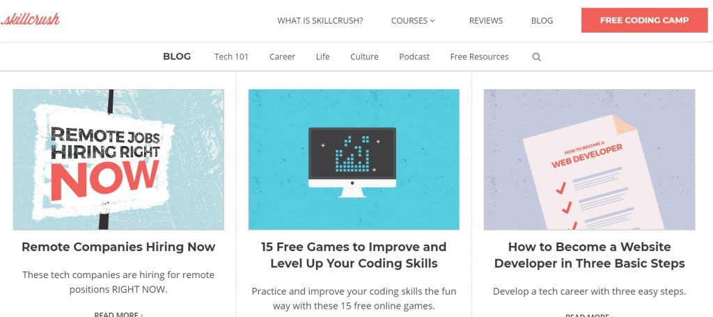 skillcrush blog