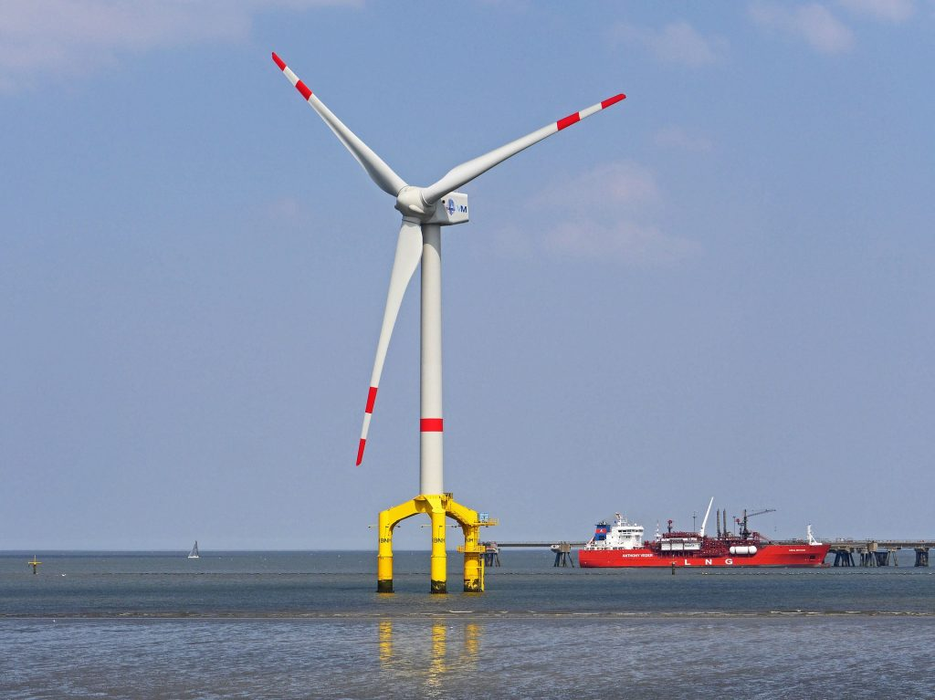 needed offshore wind turbines for major cities
