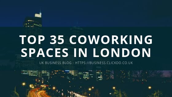 Top 35 Coworking Space in London (1)
