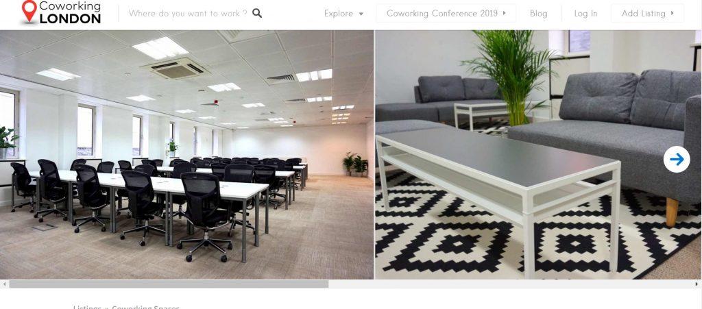 frameworks coworking in london