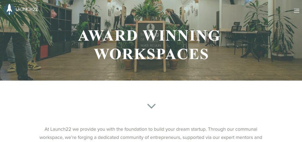 launch 22 coworking space in london