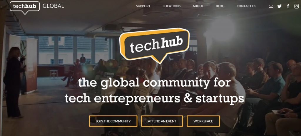 tech hub coworking space in london