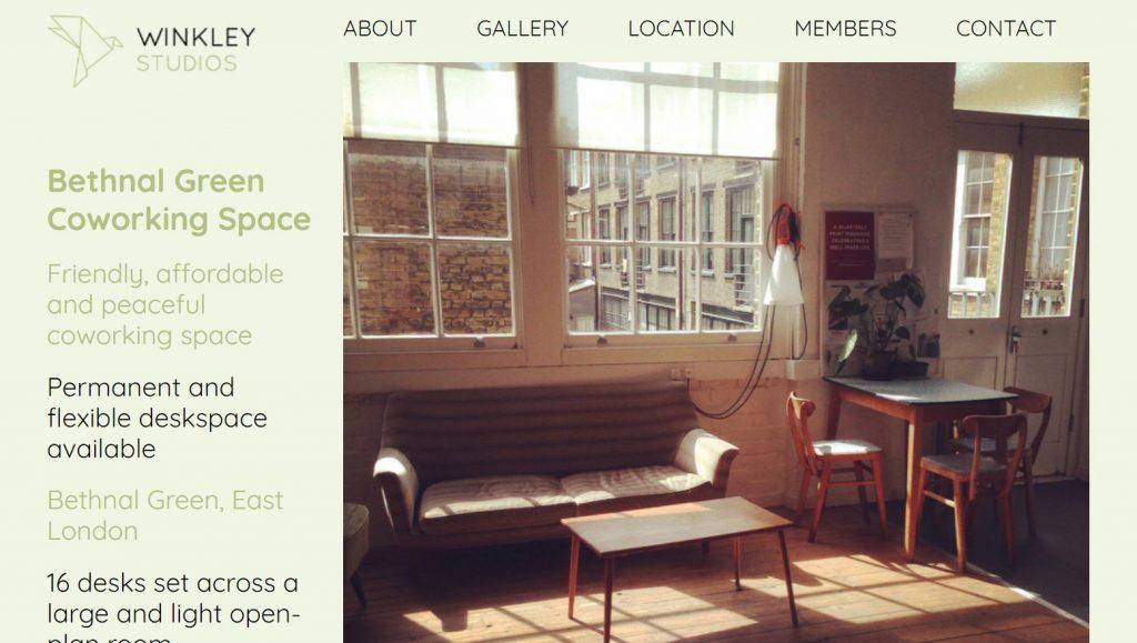 winkley studios coworking space