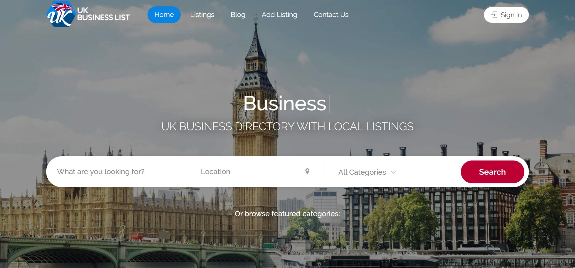 uk business list