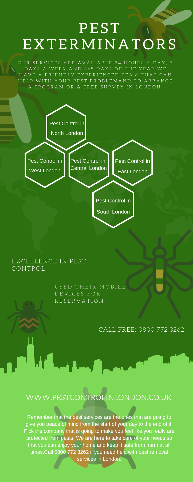 pest control in london