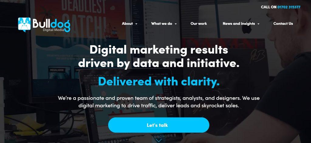 Bulldog Digital Media seo agency