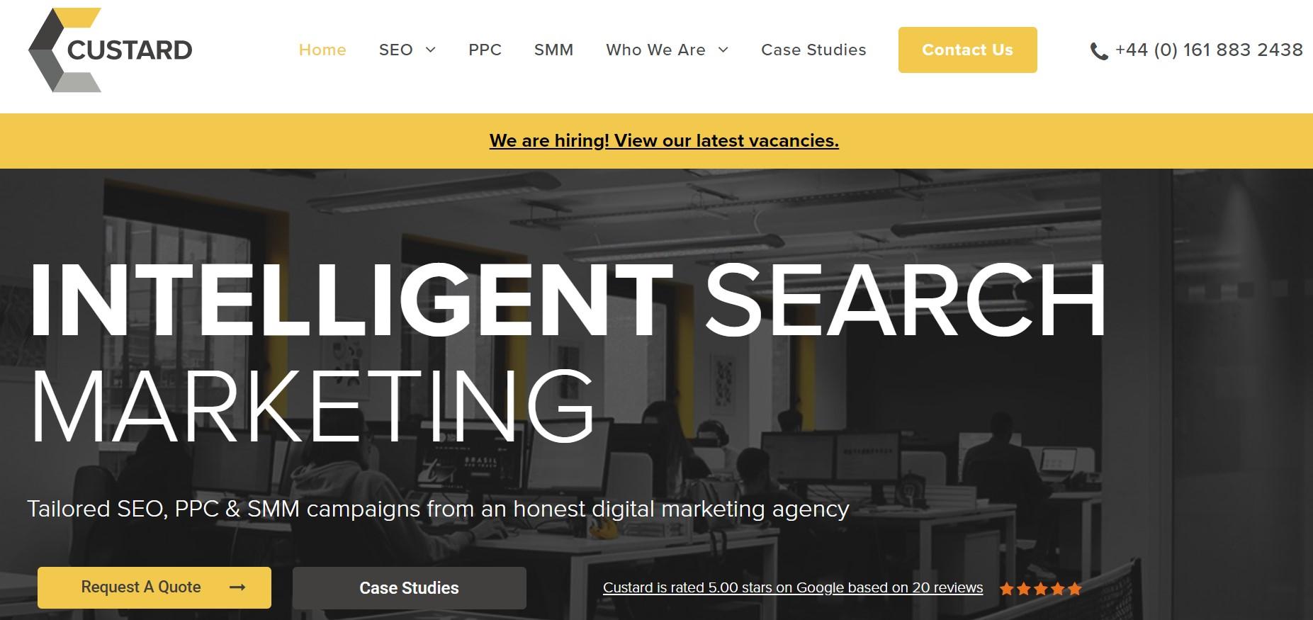 Custard Online Marketing seo agency