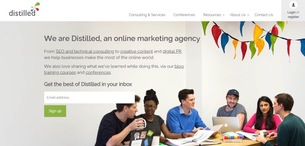 Distilled Seo Agency