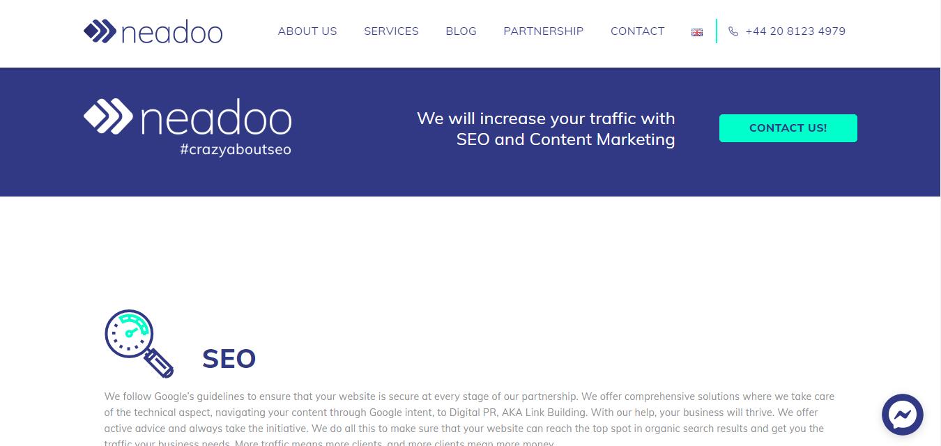 Neadoo Digital Ltd seo agency