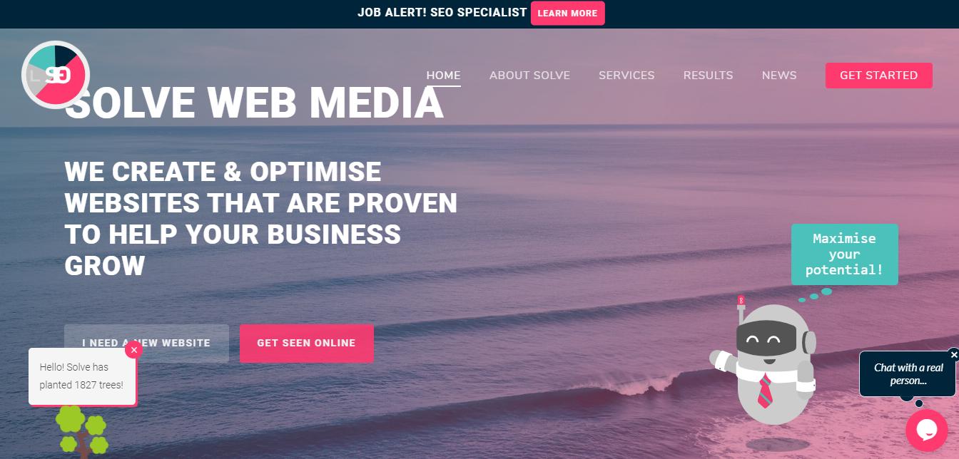 Solve web media seo agency
