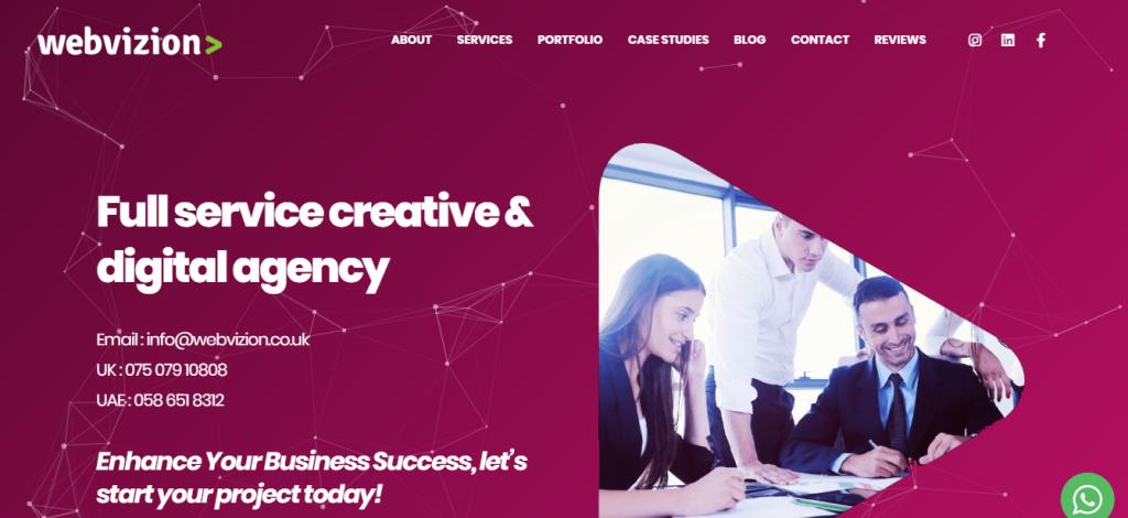 Webvizion Global Seo Agency