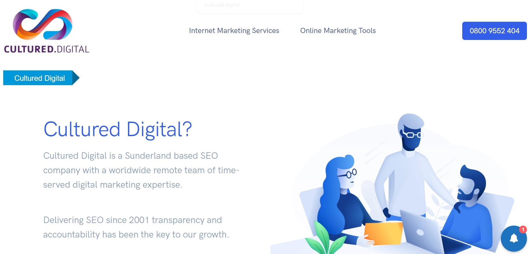 cultured digital seo agency