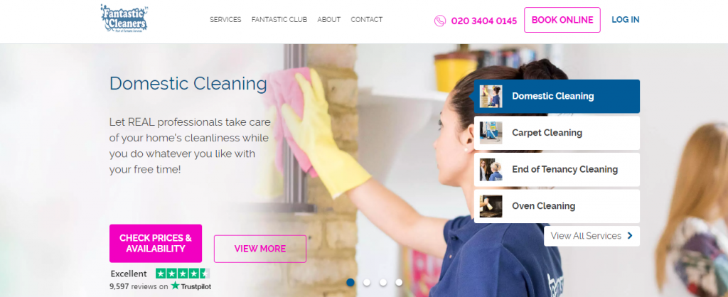 fantastic cleaner – end of tenancy company