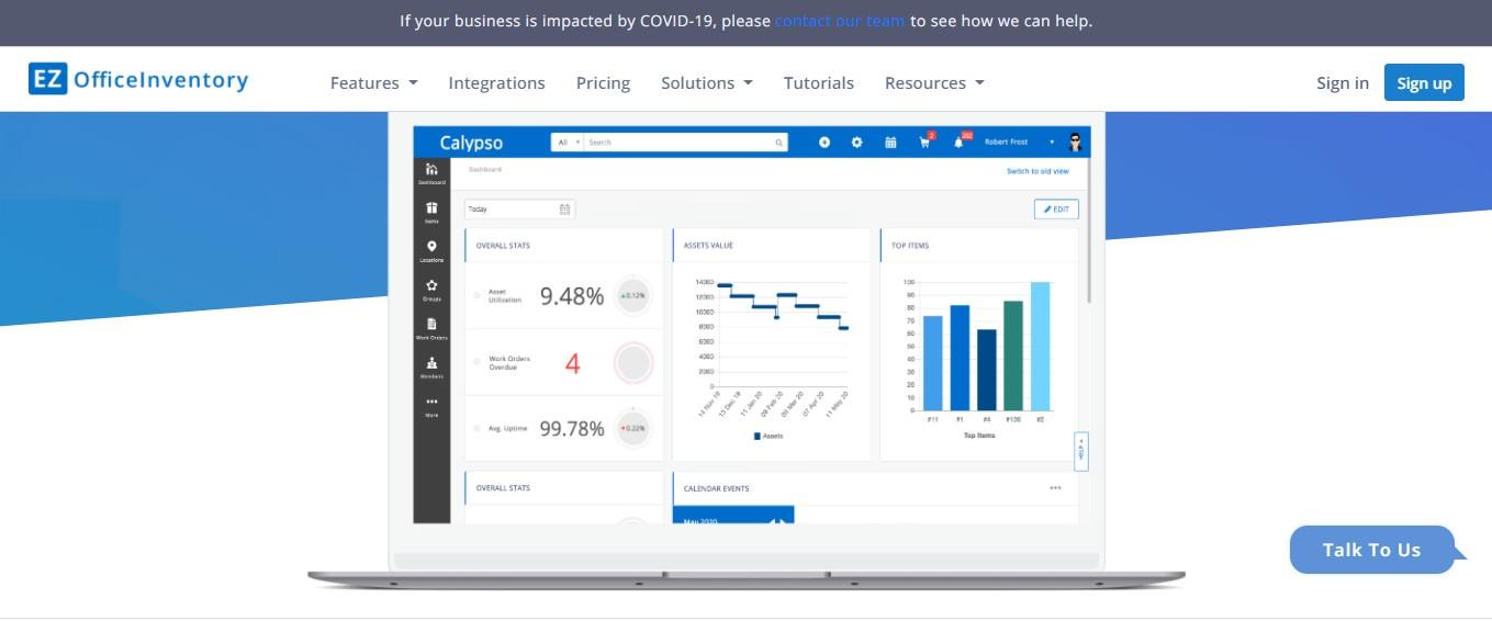 EZOffice Inventory-Facilities Software Management