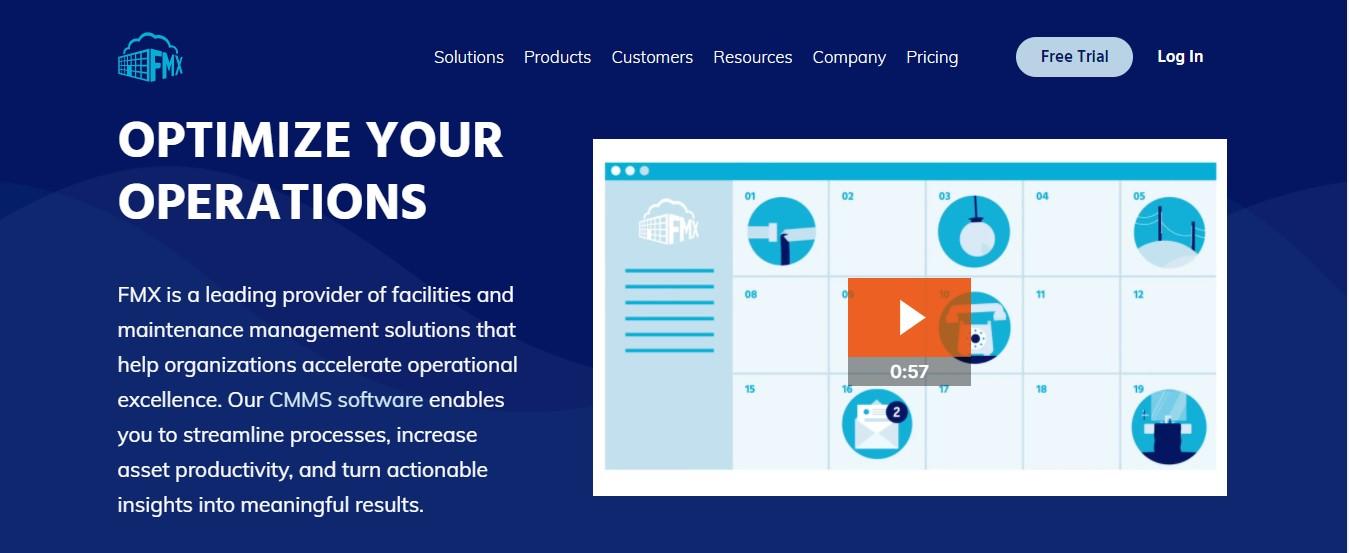 FMX -Facilities software management