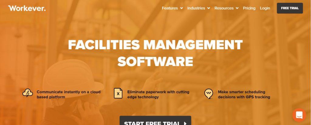 Workever Facilites Management software