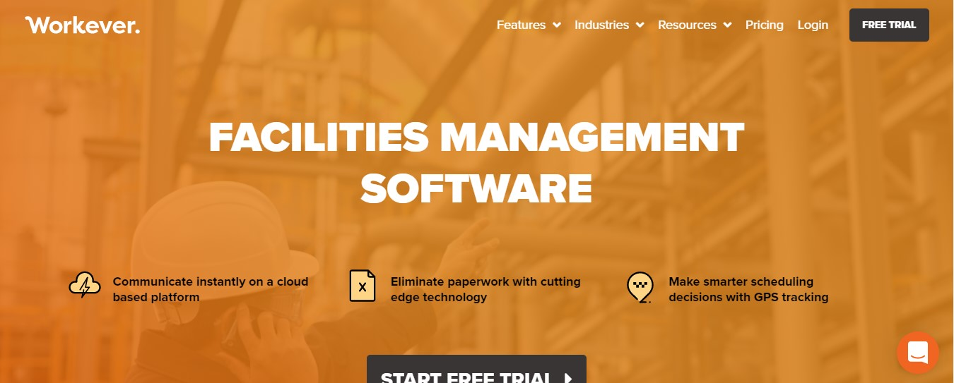 Workever Facilites Management software