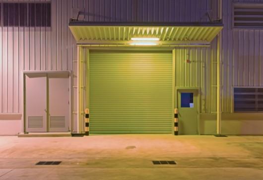 Industrial roller shutter reduce pests