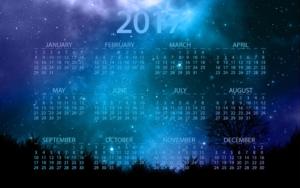 Digital Calendar for upcoming events