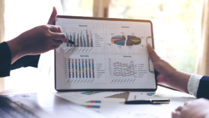 Select the Range of data to create chart or graph