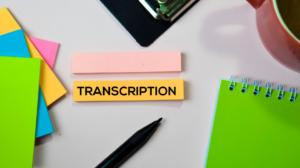 What is Machine Transcription