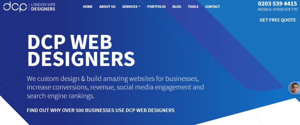 DCP web designers