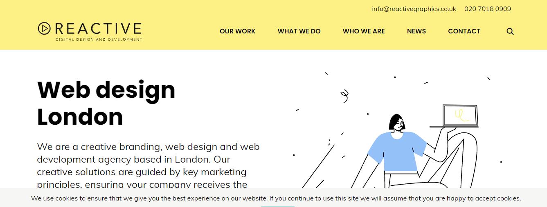 Reactive digital Design company