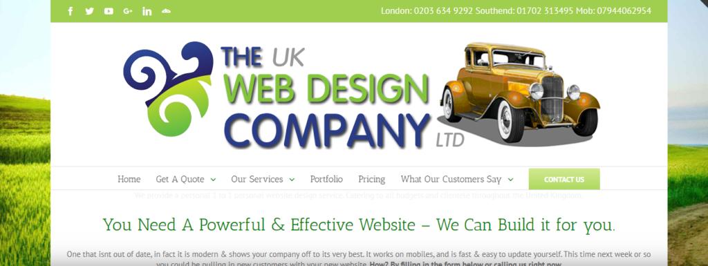 UK web design company Ltd
